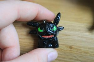 Toothless charm by Kyras-Charms