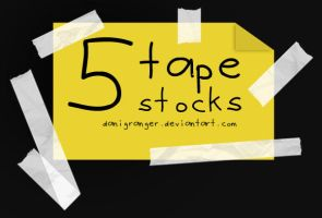 Tape stocks by danigranger