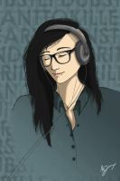 His name is SKRILLEX by Mietschie