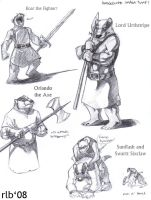 Badger Lords by Kobb