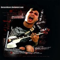 SCREAM with frank iero _layout by thesareloser