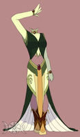 Harvest Goddess Attire by Eclipsed-Soul91