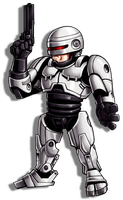 Robocop sticker by Karosu-Maker
