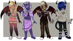 Adopt Set #3 (REDUCED PRICE) (3 left) by Demonic-Adversary