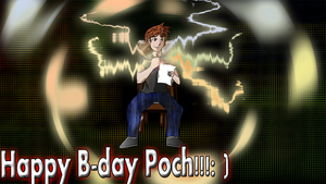 Happy Birthday Poch by Johny-Kun