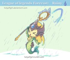 Lol Forecast 2:  Rainy by HolyElfGirl