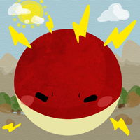 Voltorb by tabby-like-a-cat
