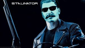 The Stalinator wallpaper by TheBrokenToast
