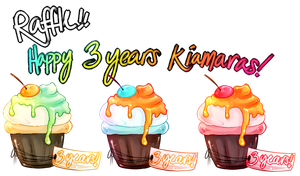 happy 3rd birthday kiamaras ! CLOSED by pandoras-island