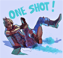 One Shot! by Bev-Nap