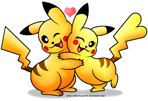 Pika-Love by AleximusPrime