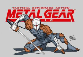 Grey Fox MGS by LloydBridgemanInk
