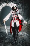 Assassin's Creed II fem!Ezio Auditore cosplay 8 by Ko-shi-patrick