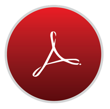 Adobe Reader V1 Icon for Mac OS X by hamzasaleem