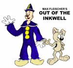 Out Of The Inkwell Fanfiction Logo NOW IN COLOR by GrishamAnimation1