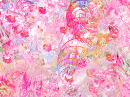 Soft Swirls in Pinks by TNBrat