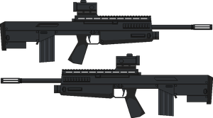 Bullpup Rifle Concept by BeBop953