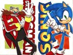 Sonic and Eggman by DabyHedgehog