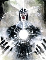 Havok screaming by RodReis
