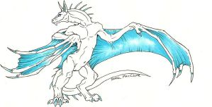 random wyvern by zarathus