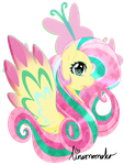 Rainbow Power - Fluttershy by linamomoko
