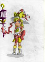 Entrainement magical girl by thebigkirby