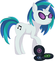 Vinyl Scratch [Pixel Art] by xSeamair