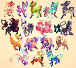 {Customs} - Lots and lots! by PhloxeButt