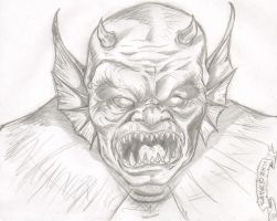 ETRIGAN EL DEMONIO by studioquimera