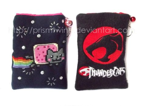 Cat bags by prismtwine