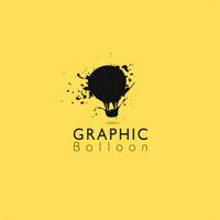 Graphic Balloon Logo by DianaGyms
