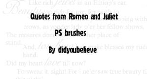 Romeo And Juliet quotes by didyoubelieve