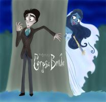 Corpse Bride Poster by Lilostitchfan