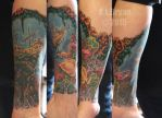 Coral reef / ship wreck winter project sitting 5 by danktat