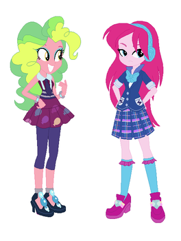 Pinkie Zest and Lemon Pie RECOLOR by LPSADVENTURE2O