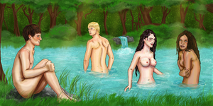 Skinny-dipping by Curtana
