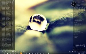 Dew Drop Desktop by Ankoku-Flare