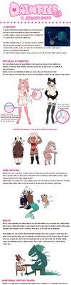 DAINTIES SPECIES REFERENCE 2017 by Kiwi-adopts
