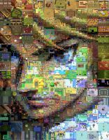 Zelda: A Link among Twilight Mosaic by Cornejo-Sanchez