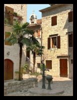 Quiet Cul-de-sac In Kotor by skarzynscy