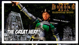 Diablo 2 The Great Herp (Episode Picture) by Vendus