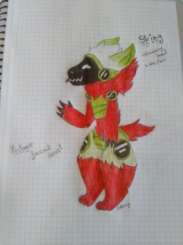 String The Protogen by Miw96
