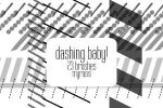 Dashing Baby Brushes by draconis393