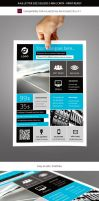 Corporate and Business Commerce Flyer Template by renefranceschi