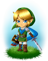 Hyrule Warriors Link by Tharene