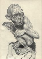 Smeagol -work in progress- by cyeos