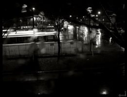 Eastern Ave at Night by mykem