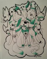 Group Photo (original colour) by Questioning-Clouds
