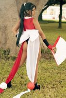 Fatal Fury Shiranui by dashcosplay