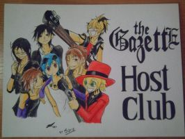 The GazettE Host Club by Dirl